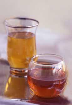 Glasses Of Black Tea