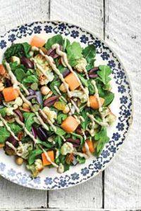 Salad Hummus Dressing