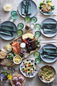 Swedish Paskbord Easter Buffet