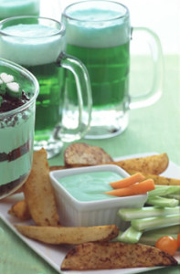 Green Beer & Fries