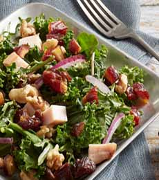 Kale Salad With Turkey & Dates