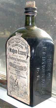 Old Bottle Of Bitters