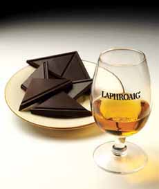 Laphroaig & Dark Chocolate