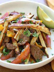 Carne Asado With Fries