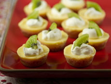 Mini Tartlets Lemon Curd