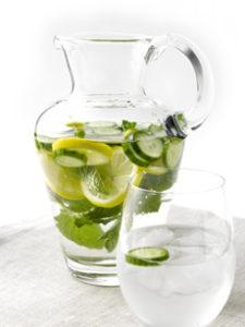 Cucumber Mint Spa Water