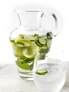 Cucumber Mint Spa Water
