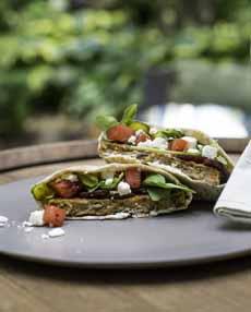 Pita Burger Morningstar Vegetarian
