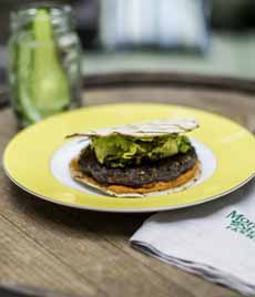 Romesco Burger - Morningstar Vegetarian