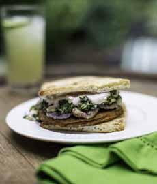 Tandoor Burger Morningstar Vegetarian