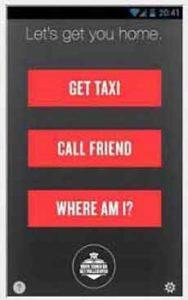 NHTSA safe ride-app