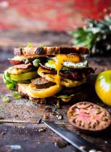 Grilled Pineapple BLT