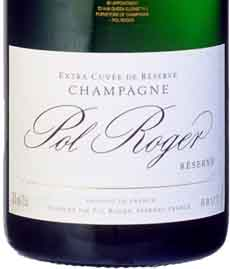 Pol Roger Champagne Label