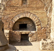 Ancient Pompei Oven