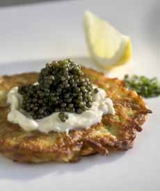 Latke With Caviar
