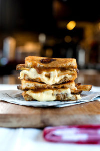 Poutine Grilled Cheese