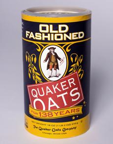 Original Quaker Canister