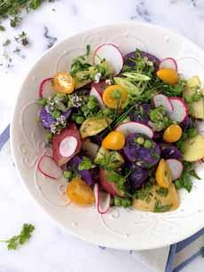 Pretty Potato Salad