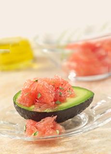 Red Grapefruit & Avocado Salad