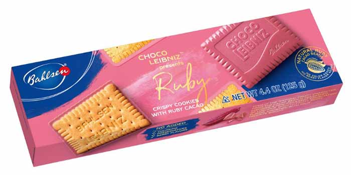 Choco Leibniz Ruby Cacao Biscuits