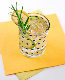 Lemon Rosemary Water