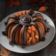 Spider Halloween Bundt Cake