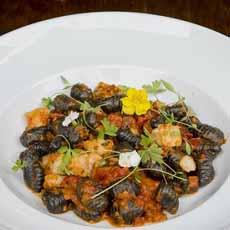 Squid Ink Pasta Cavatelli
