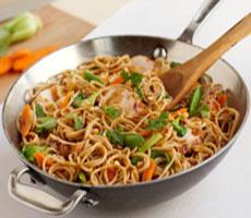 Stir Fried Spaghetti