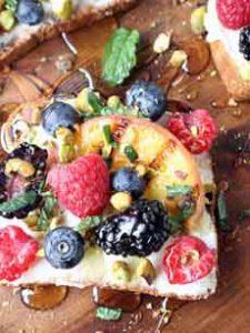 Summer Fruit Toast