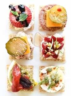 Triscuit Canapes