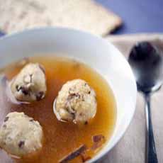 Truffled Matzoh Ball Soup