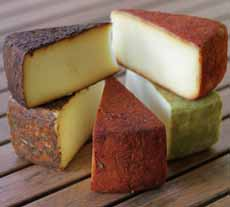 Hand Rubbed Fontina Yellow Door Creamery