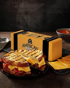 Block Of American Cheese