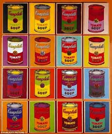 Andy Warhol Campbell's Tomato Soup