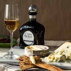 Anejo Tequila With Cheese