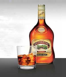 Aged Rum On The Rocks