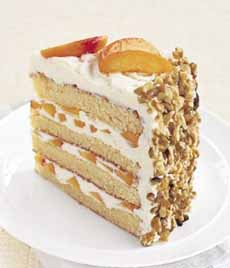 Apricot Whipped Cream Cake Filling