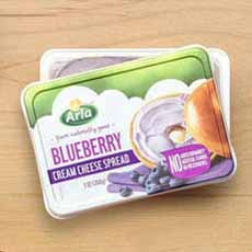 Arla Blueberry Cream Cheese