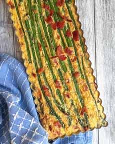 Asparagus Frittata Strata
