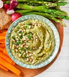 Asparagus Bean Dip