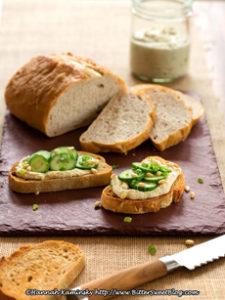 Asparagus-Hummus Tartine