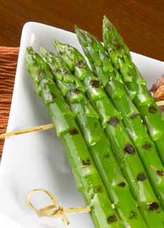 Grilled Rack Of Asparagus