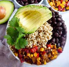 Sorghum Grain Bowl
