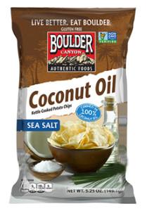 Boulder Canyon Coconut Oil Chips