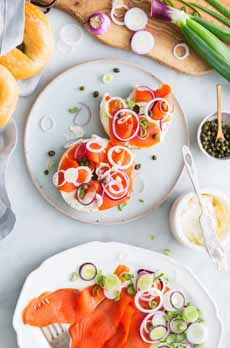Bagel Smoked Salmon