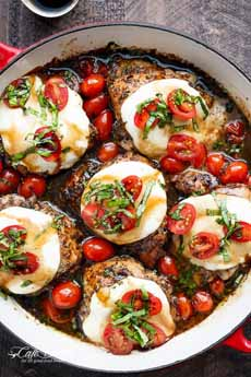 Balsamic Chicken Caprese
