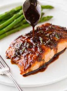 Balsamic Glaze Salmon