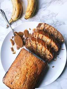 Granola Butter Banana Bread