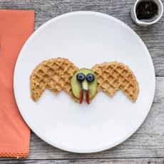 Bat Waffles