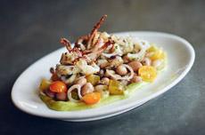 Calamari & Beans